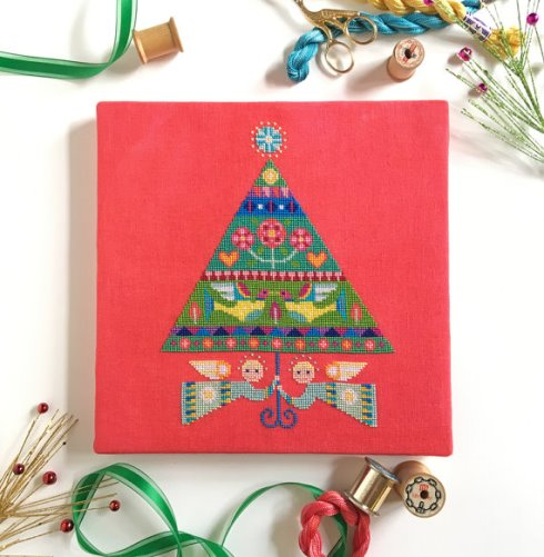 Satsuma Street - Merry & Bright-Satsuma Street - Merry  Bright, Christmas ornaments, Christmas, cross stitch,