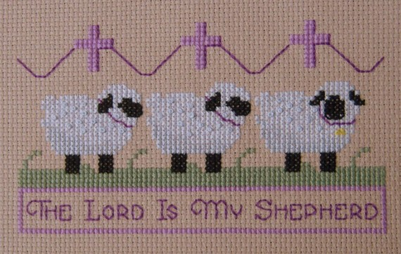 Ladybug Designs - The Lord is my Shepherd-Ladybug Designs - The Lord is my Shepherd