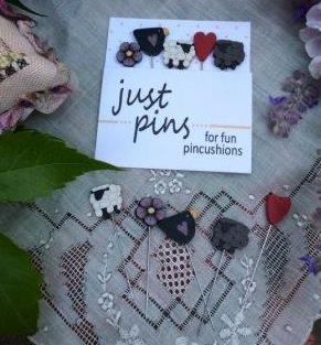 Just Another Button Company - Shepherd's Fold Pins-Just Another Button Company, Shepherds Fold Pins, Shepherds Bush cross Stitch,