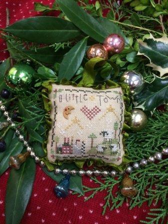 Shepherd's Bush - O Little Town-Shepherds Bush - O Little Town, ornament, Christmas, cross stitch