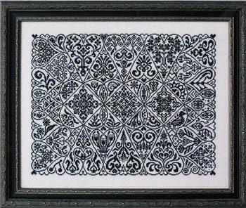 Ink Circles - Cirque des Coeurs - Cross Stitch Pattern-Ink Circles, Cirque des Coeurs, Cross Stitch Pattern