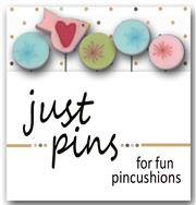 Just Another Button Company - Seasonal Sliders on Ice - Frost Slider Pins-Just Another Button Company, Seasonal Sliders on Ice, Frost Slider Pins, pin cushion pins,