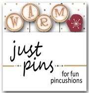 Just Another Button Company - Seasonal Sliders on Ice - Warm Up Slider Pins-Just Another Button Company, Seasonal Sliders on Ice, Warm Up Slider Pins, pin cushion, coffee,