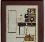Just Another Button Company - Tuffet's Cupboard - Part 1 of 4 - Cross Stitch Pattern