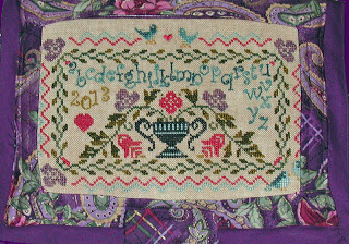 Praiseworthy Stitches - Mon Petit Jardin - Cross Stitch Pattern-Praiseworthy Stitches, Mon Petit Jardin, Nashville show, Cross Stitch Pattern