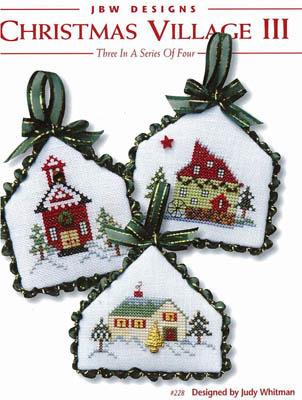 JBW Designs - Christmas Village III-JBW Designs - Christmas Village III - Cross Stitch Patterns