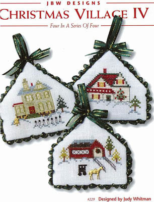 JBW Designs - Christmas Village IV-JBW Designs - Christmas Village IV - Cross Stitch Patterns