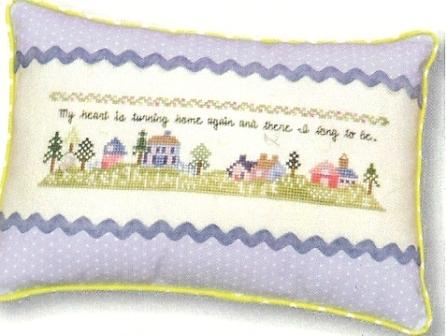 JBW Designs - Home At Last - Cross Stitch Pattern-JBW Designs, Home At Last, Cross Stitch Pattern