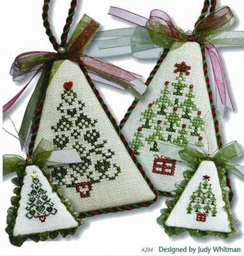 JBW Designs - Christmas Tree Collection I-JBW Designs, Christmas Tree Collection I, Christmas ornaments to cross stitch for your tree, Cross Stitch Patterns