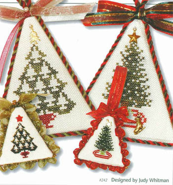 JBW Designs - Christmas Tree Collection VII-JBW Designs - Christmas Tree Collection VII - Cross Stitch Patterns