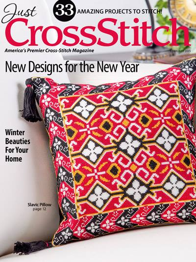 Just Cross Stitch - 2015 #1 Issue January/February-Just Cross Stitch, 2015 1 Issue JanuaryFebruary, Cross Stitch Magazine