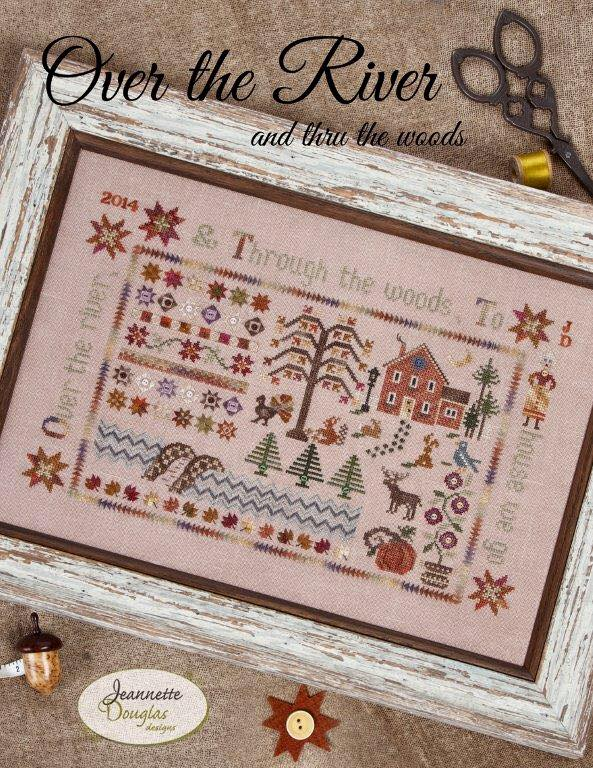 Jeannette Douglas Designs - Over the River and Through the Woods