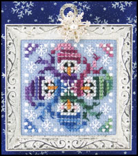 Just Nan - Snow Faces - Cross Stitch Chart