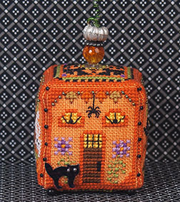 Just Nan - 2015 Ornament Shop - Witchy Pumpkin Cottage & Embellishments