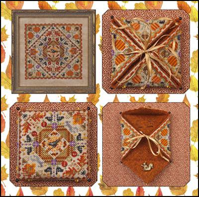 Just Nan - Autumn in the Meadow & Embellishments-Just Nan - Autumn in the Meadow  Embellishments, fall, needle book,