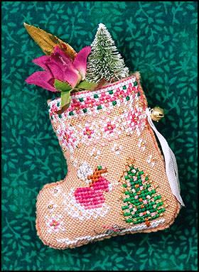 Just Nan - 2019 Ornament Shop - Gingerbread Fairy Mouse Stocking & Embellishments-Just Nan - 2019 Ornament Shop - Gingerbread Fairy Mouse Stocking  Embellishments, Christmas, mouse, stockings, embellish, cross stitch