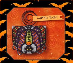 Just Nan - 2014 Ornament Shop - Batty Boris & Embellishments Limited Edition Ornament-Just Nan,  2014 Ornament Shop,  Batty Boris  Embellishments Limited Edition Ornament, halloween, bats,