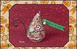 Just Nan - 2013 Ornament Shop - Gingerbread Mouse Jingle - Exclusive Limited Edition Kit