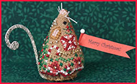 Just Nan - 2012 Ornament Shop - Gingerbread Mouse - Limited Edition