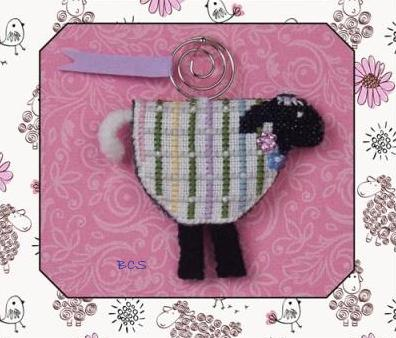 Just Nan - 2014 Ornament Shop - Lorelei Lamb & Embellishments Limited Edition Ornament