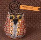 Just Nan - Oakley Owlet - Limited Edition Ornament Pinkeep