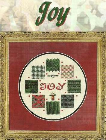 Something In Common - JOY - Cross Stitch Pattern-Something In Common - JOY - Cross Stitch Pattern