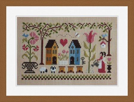 Jardin Prive - Les Beaux Jours-Jardin Prive - Les Beaux Jours, bright days ahead, fine weather, garden, sheep, home, flowers