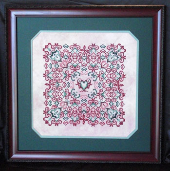 Keslyn's - Sherry's Hearts - Cross Stitch Pattern