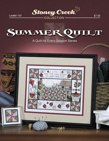 Stoney Creek Summer Quilt Cross Stitch Chart-Stoney, Creek, Summer, Quilt, Cross, Stitch, Chart,