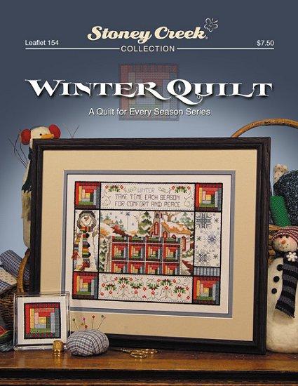 Stoney Creek Winter Quilt Cross Stitch Chart-Stoney Creek Winter Quilt Cross Stitch Chart