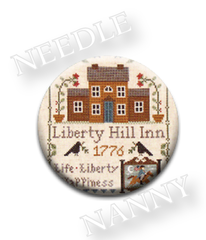 Stitch Dots - Liberty Hill Inn Needle Nanny by Little House Needleworks-Stitch Dots - Liberty Hill Inn Needle Nanny by Little House Needleworks