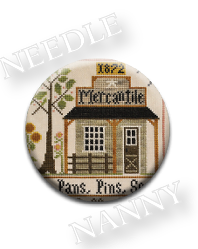 Stitch Dots - Mercantile Needle Nanny by Little House Needleworks-Stitch Dots - Mercantile Needle Nanny by Little House Needleworks
