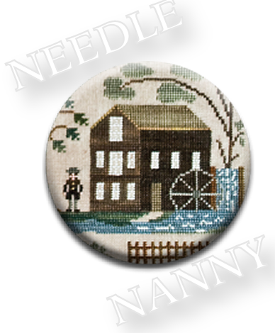 Stitch Dots - The Mill Needle Nanny by Little House Needleworks-Stitch Dots - The Mill Needle Nanny by Little House Needleworks