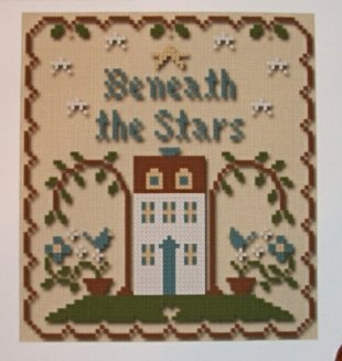Little House Needleworks - Sun, Moon and Stars - Part 2 of 3 - Beneath the Stars Thread Pack-Little House Needleworks - Sun, Moon and Stars - Part 2 of 3 - Beneath the Stars - Cross Stitch Thread Pack