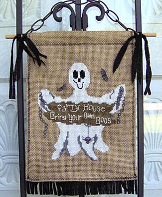Designs by Lisa - Bring Your Own Boos - Cross Stitch Pattern-Designs by Lisa - Bring Your Own Boos - Cross Stitch Pattern