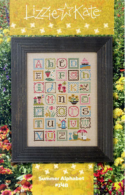 Lizzie Kate - Summer Alphabet with Embellishments