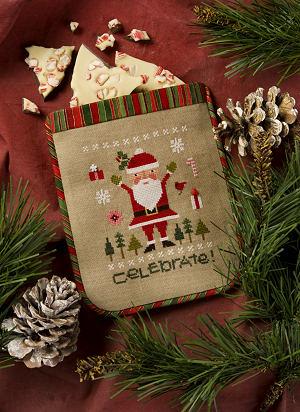 Lizzie Kate - 2015 Santa - Celebrate!-Lizzie Kate - 2015 Santa - Celebrate, Christmas, Santa Claus,