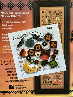 Lizzie Kate - Tingles Embellishment Pack-Lizzie Kate - Tingles Embellishment Pack