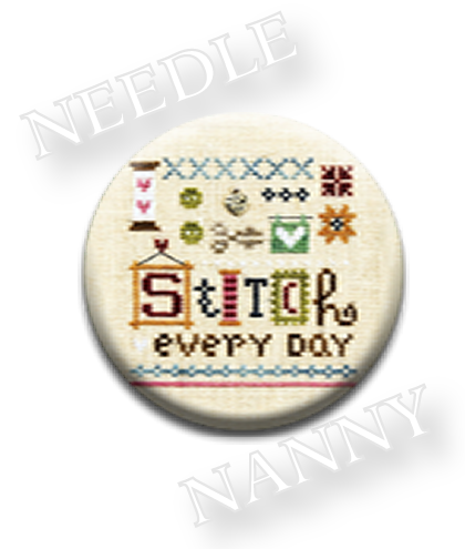 Stitch Dots - Stitch Every Day Needle Nanny by Lizzie Kate-Stitch Dots - Stitch Every Day Needle Nanny by Lizzie Kate, hobbies, sewing, cross stitch, magnets,