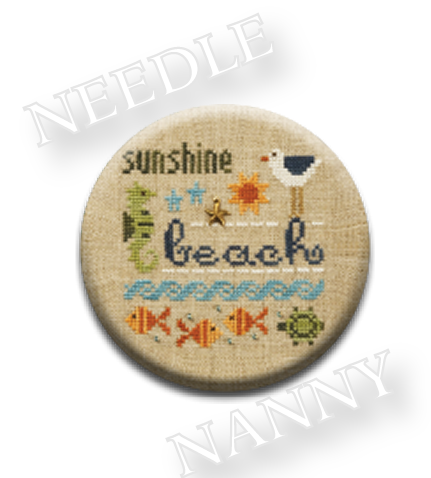 Stitch Dots - Beach Needle Nanny by Lizzie Kate-Stitch Dots - Beach Needle Nanny by Lizzie Kate,