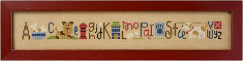 Lizzie Kate - Doggy String-Lizzie Kate, Doggy String Snippet, dogs, canine, animals, sampler, alphabet,Cross Stitch Pattern