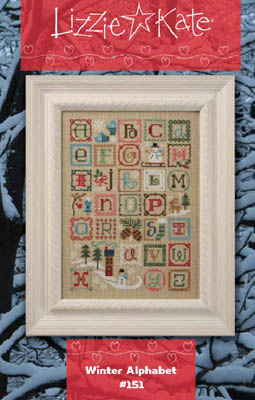 Lizzie Kate - Winter Alphabet Sampler