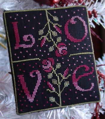 New York Dreamer - Love - Cross Stitch Pattern-New York Dreamer, Love - Cross Stitch Pattern