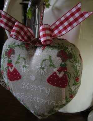 Lilli Violette - Merry Christmas - Cross Stitch Pattern