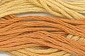 Classic Colorworks - Candy Corn -Crescent Colours, Candy Corn, 173, halloween, needlework, embroidery, cross stitch thread, Hand Dyed Floss
