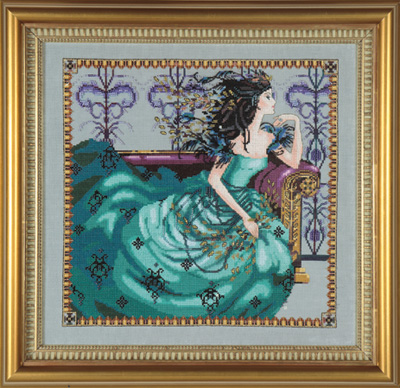 Mirabilia Designs - Cassiopeia-Mirabilia Designs, Cassiopeia, Beach Cottage Stitchers, Fine stitching, gifts, Cross Stitch Pattern