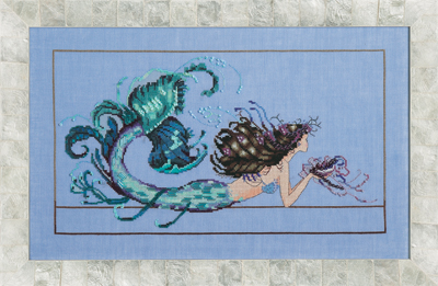 Mirabilia Designs - Mermaid Undine-Mirabilia Designs, Mermaid Undine, ocean, mermaid, under the sea, Cross Stitch Pattern