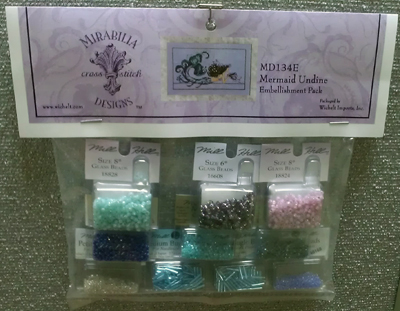 Mill Hill - Embellishment Pack for Mermaid Undine-Mill Hill, Embellishment Pack for Mermaid Undine,