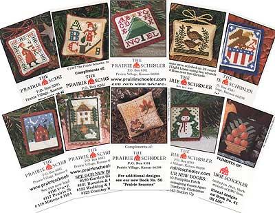 Prairie Schooler - Mini Card Collection B