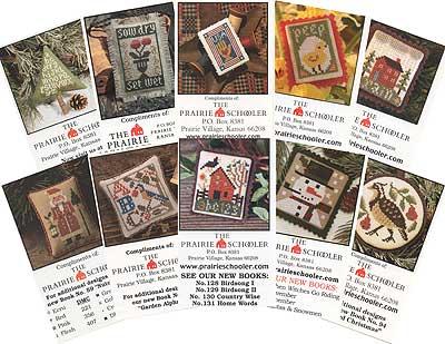 Prairie Schooler - Mini Card Collection C